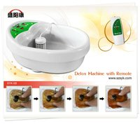 Electric foot therapy massager foot spa with remoter