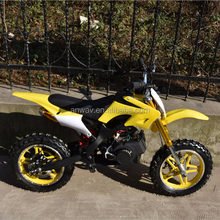 49cc 2 stroke mini moto / pocket bike/dirt bike with manual ignition method