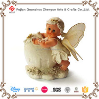 Cute small angel figurine safe bank
