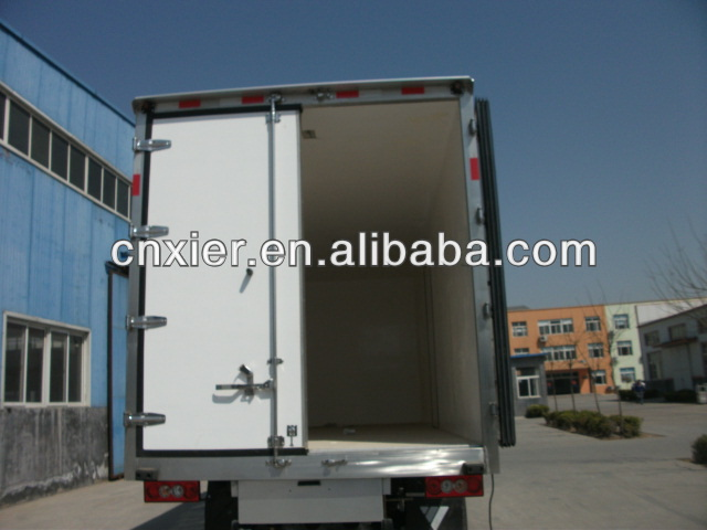 refrigerator van truck /moblie canteen/moblie dinner car refrigeration lorry/refer van for vehicle /box car/refit truck