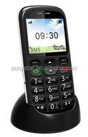 Hot selling easy use mobile phone for senior phone with big button and loud speaker!