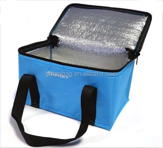 Lunch bag for frozen food,thermal lined cooler bag