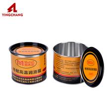 Manufacturer round empty chemical industry tin can with easy open lid