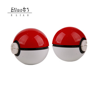 Yiwu Erliao Smoking Tobacco Wholesale Grinder 3 Piece Manual Pokemon Herb Grinder
