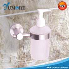 China cheap stainlesss small wall mounted soap dispenser