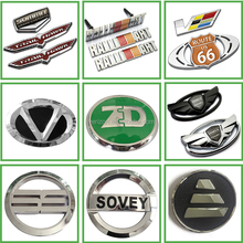 Best price hot sale plastic chrome 3D custom car logo emblems and their name badges