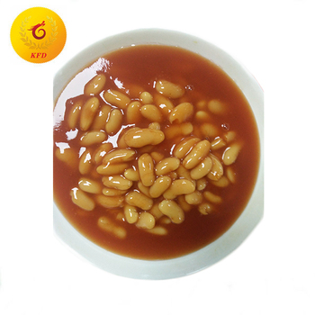 2017 Canned white kidney beans baked beans in tomato sauce canned food