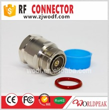 zhenjiang 7/16 DIN female solder rf wire connector for 7/8 feeder cable