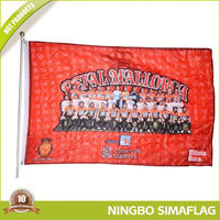 Indoor Hanging Charm Polyester Sport Flags