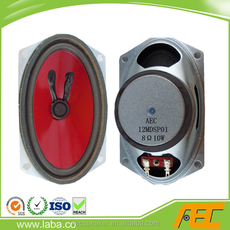 Hot Sale 77*128MM 8 Ohm 10W Mini TV Speakers