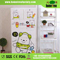 Durable Key Boy Robot Bear Baby Wall Mounted Wardrobe Cabinet Drawers