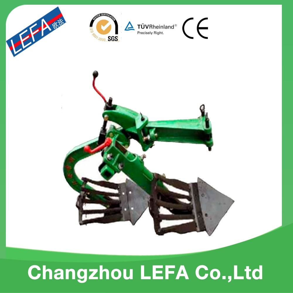Mini farm plow plough machine for Hand walking tractor