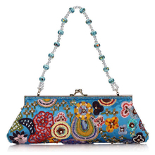 Embroidery Clutch bag Paillette Evening Bag
