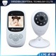 SP880 2.4Ghz Wireless Digital Video Baby Temperature Monitor Camera with Night Vision Lullaby 2-way communication