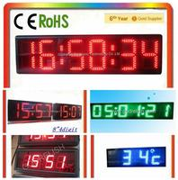 Hot selling mini projects in digital clock for wholesales