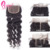 Hair Extensions For Black Natural Wave Weave Human Hair Bundles With 4x4 Free Part Closure