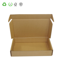 Recycle paper corrugated carton box corrugated box packaging with handle
