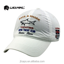 white PAUL AND SHARK embroidery new 2014 beautiful baseball and golf hats and caps alibaba china