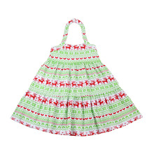 Christmas Cute Baby Dress Petti Dress for Little Kids