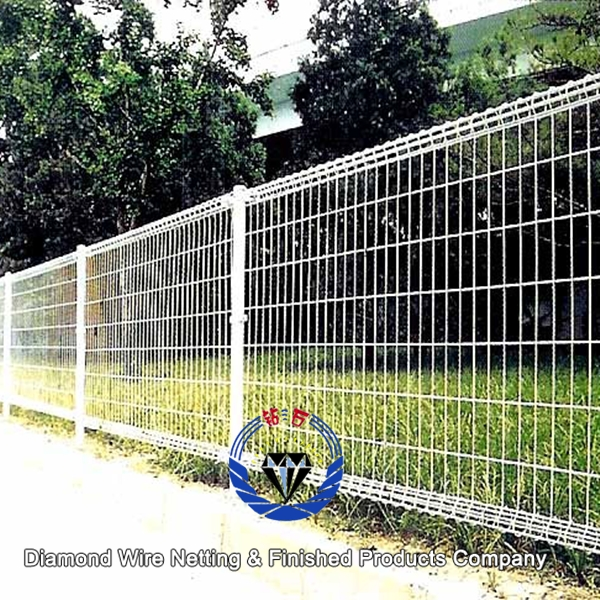Double wire loop yard fence buy galvanized ornamental