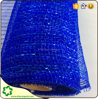 the latest pp plastic fashional plastic floral mesh wrap