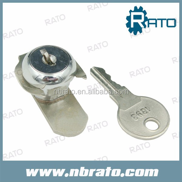 key alike polished stainless steel atm lock