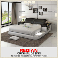 Top-selling modern fashion couple beds,soft bed