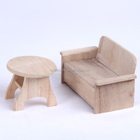 small wood desk model wooden crafts for sale