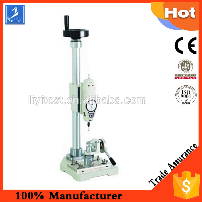Button tensile strength testing machine