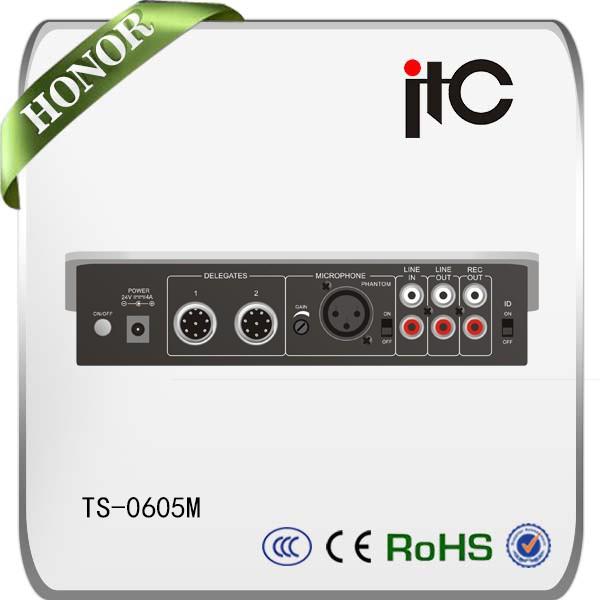 ITC TS Series Expandable and Multi-functional Professional Audio Conference System