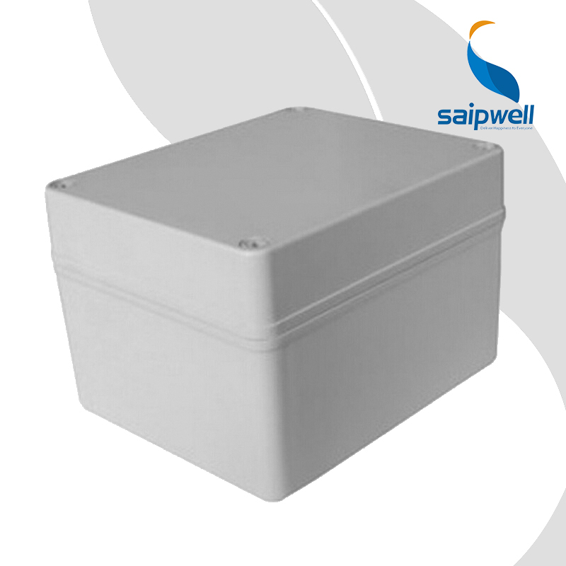 SAIP/SAIPWELL 200*150*115mm Custom Gray Cover IP65 Plastic Waterproof Electrical Junction Box