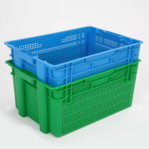 factory price mesh plastic crate for 20-40 kgs fruits
