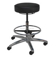 Top china furniture adjustable height modern pu lab stool