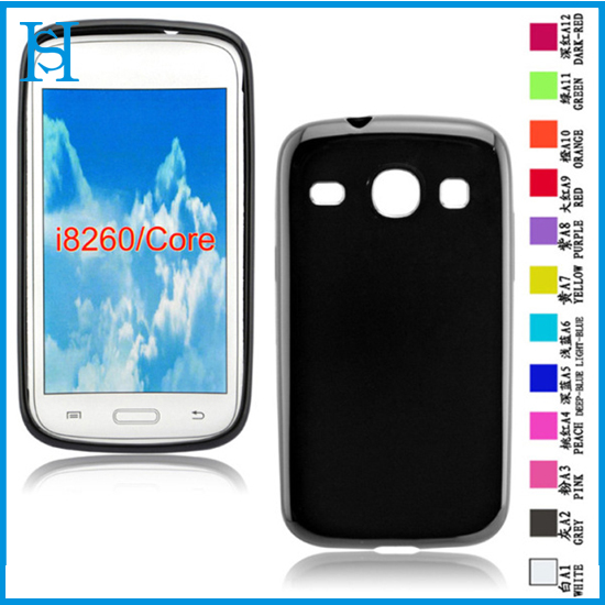 Soft TPU Skin Case for Samsung Galaxy Core i8260 i8262 Phone Cover