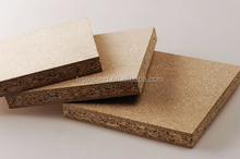 Melamine/veneer Chipboard/Particle Board/1220*2440mm plain fire rate particle board for making the core