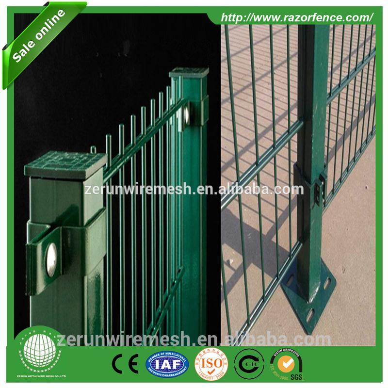 ZERUN VGuard Security Fence, Doublebeam Mesh,Twin Wire Weld Mesh