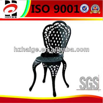 customized aluminum outside garden furniture spare part(table,chair,leg)