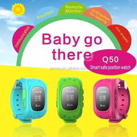 hidden wrist watch gps tracking device for kids or children / child gps tracker bracelet with SOS function