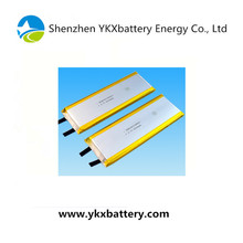 High power discharge 3.7V 9034125 3600mAh 10C lithium polymer rechargeable battery