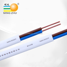 Wholesale china market flat electrical cable wire south africa,flat PVC wire