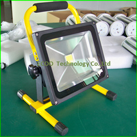 Factory price 30W 60H working time rechargeable portable led flood light outdoor camping emergency LED lights