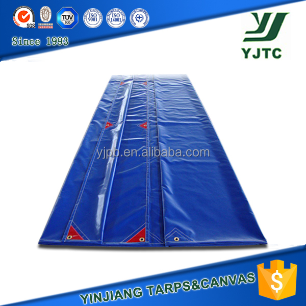 650gsm waterproof and fire retardent pvc reinforced tarpaulin