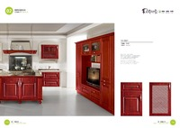 red lacquer small kitchen cabinet door seal