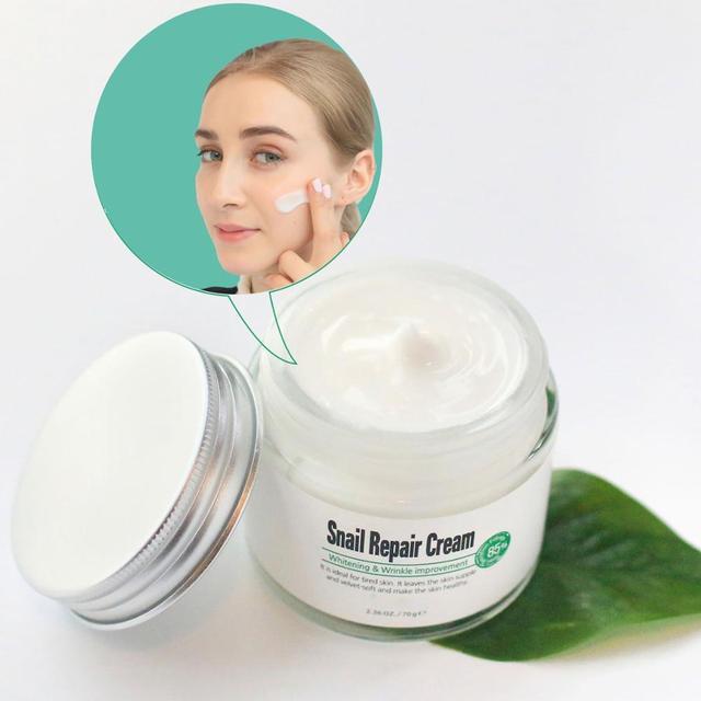 Best Cosmetics Korea Whitening and Wrinkle Snail Repair Cream