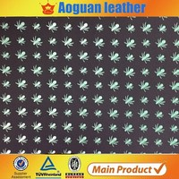 Synthetic embossed wearproof pattern leather,sale with best price synthetic leather