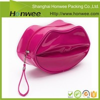 womens fashion travel hanging leather makeup toiletry bag