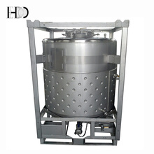 Stainless Steel Container with Heating Jacket IBC Heater