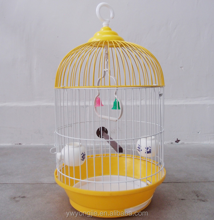 Making Factory Of Metal Wire Bird Cage Round Breeding Cage For Canary