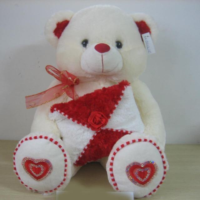 Wholesale cute toy gift children Teddy bear plush stuffed toy animals pattern
