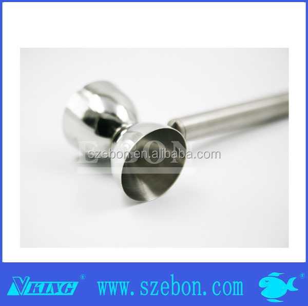 Promotion stainless steel double jigger with handle food grade